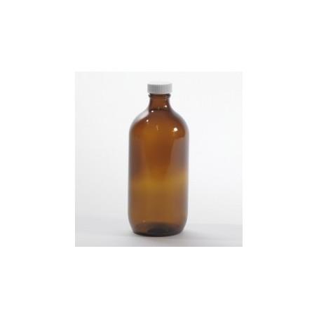 Flacone vetro scuro / ambrato 1 litro con tappo sigillo