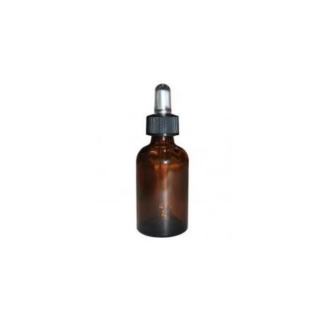 Flacone con contagocce 100ml vetro scuro / ambrato