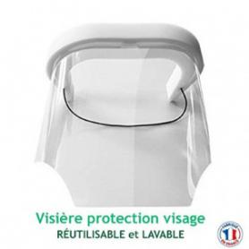 Visiera di protezione riutilizzabile e lavabile