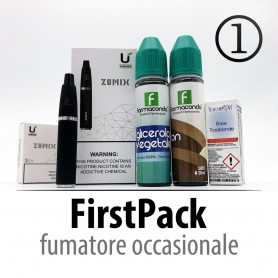FIRST PACK 1: Fumatore Occasionale (tutto incluso)